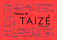 CHANTS DE TAIZE 2018-2019
