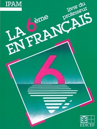 LA 6E EN FRANCAIS / LIVRE DU PROFESSEUR