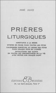 PRIERES LITURGIQUES