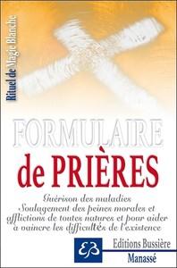 FORMULAIRE DE PRIERES