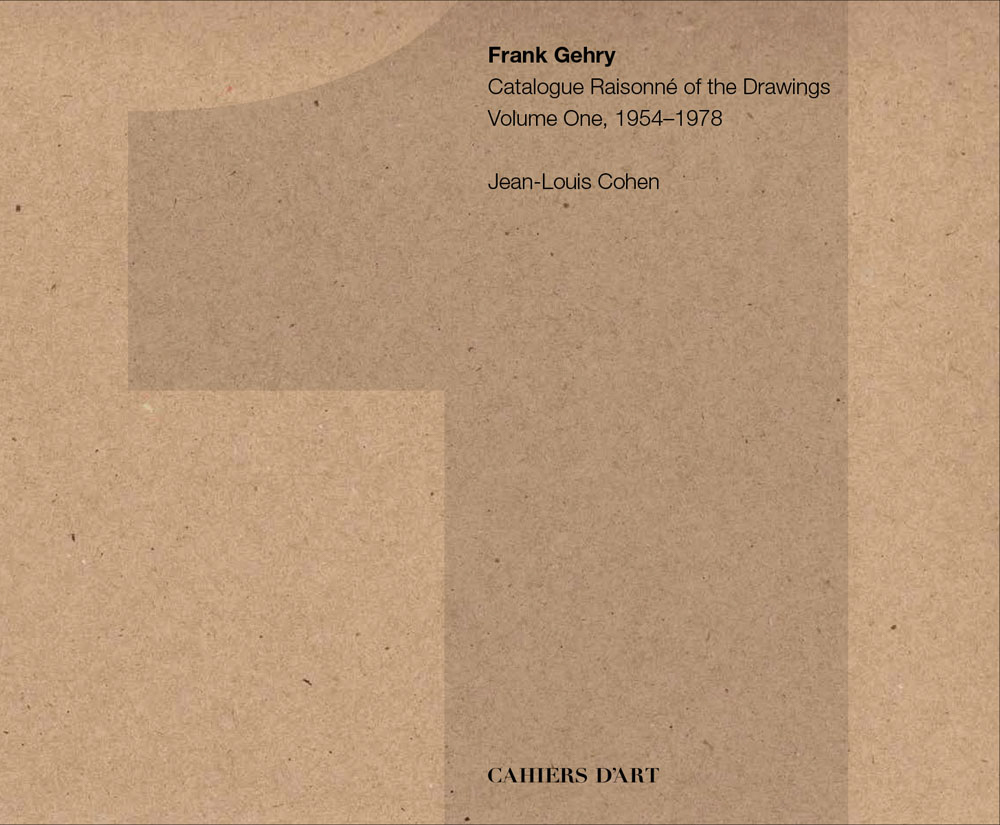 FRANK GEHRY CATALOGUE RAISONNE OF THE DRAWINGS /ANGLAIS