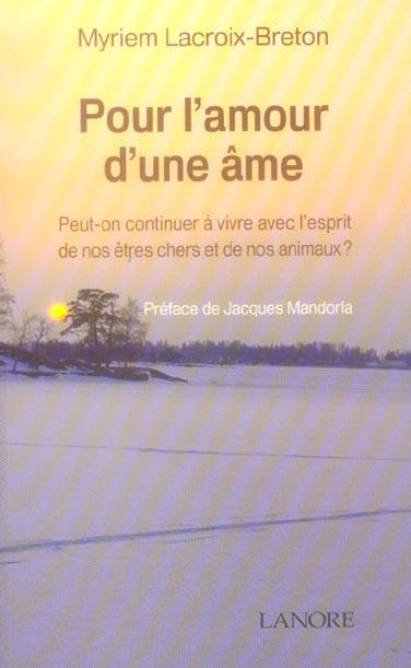 POUR L'AMOUR D'UNE AME