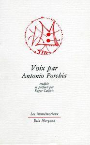 VOIX PAR ANTONIO PORCHIA