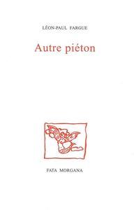 AUTRE PIETON