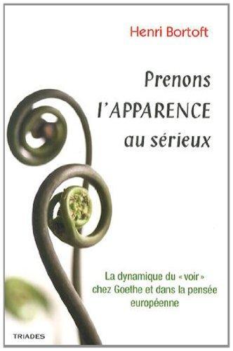 PRENONS L'APPARENCE AU SERIEUX