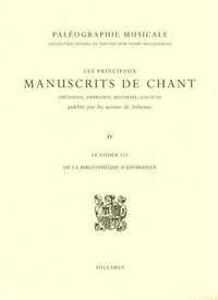LE CODEX 121 DE LA BIBLIOTHEQUE D'EINSIEDELN (PALEOGRAPHIE MUSICALE)