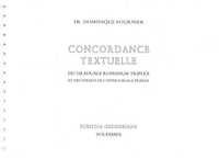 CONCORDANCE TEXTUELLE GRADUALE TRIPLEX ET OFFERTORIALE TRIPLEX