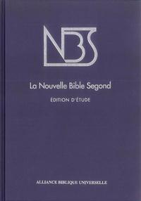 NBS LA NOUVELLE BIBLE SEGOND EDITION ETUDE