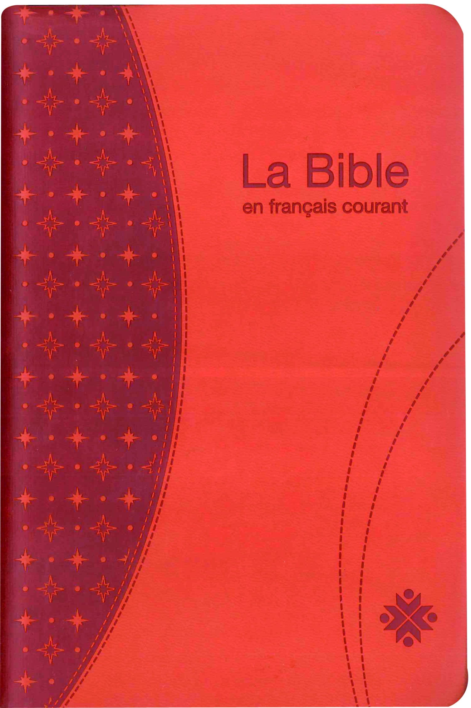 BIBLE FRANCAIS COURANT+DC, STAND.AVEC ONGLET, SOUPLE , HAVANE AVEC NOTES