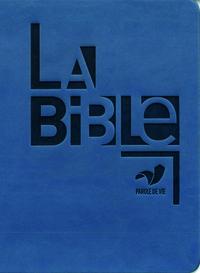 BIBLE PAROLE DE VIE PROT COMPACTE SOUPLE BLEU