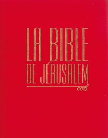 "BIBLE DE JERUSALEM ""EDITION MAJOR"""