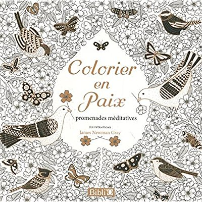 COLORIER EN PAIX - PROMENADES MEDITATIVES