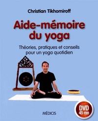 AIDE-MEMOIRE DU YOGA AVEC DVD