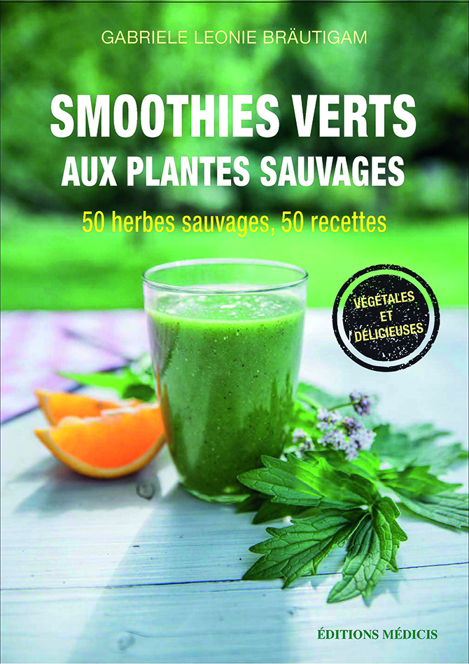 SMOOTHIES VERTS AUX PLANTES SAUVAGES