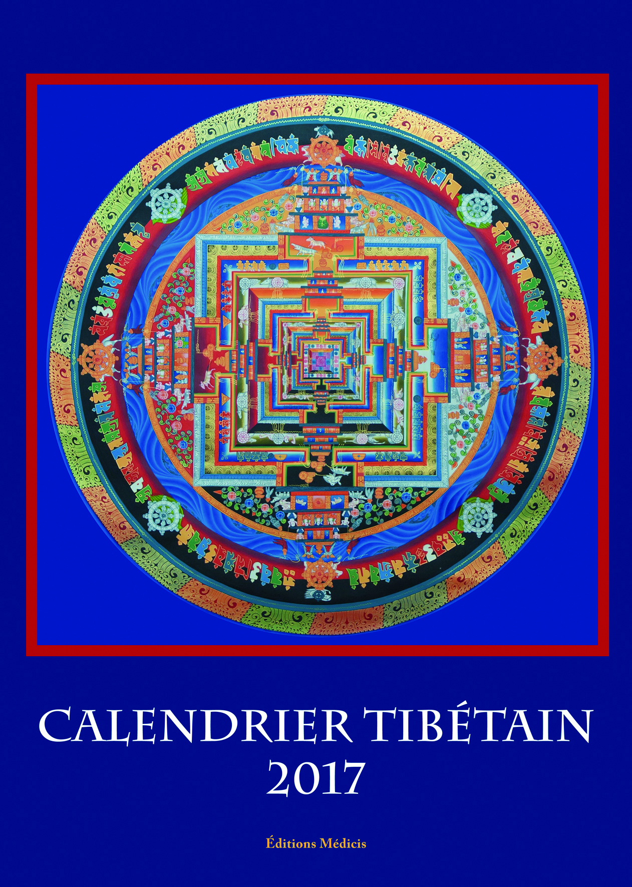 CALENDRIER TIBETAIN 2017