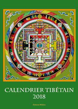 CALENDRIER TIBETAIN 2018