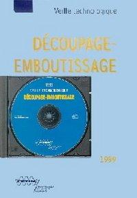 DECOUPAGE EMBOUTISSAGE 1999 AVEC CD ROM SERIE VEILLE TECHNOLOGIQUE 3E28