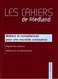 METIERS ET COMPETENCES POUR UNE NOUVELLE CROISSANCE N 8 2E SEMESTRE 2011