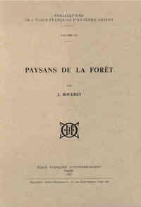 PAYSANS DE LA FORET
