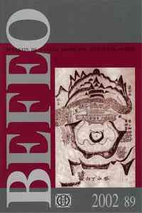 BULLETIN DE L'ECOLE FRANCAISE D'EXTREME-ORIENT (2002) N  89