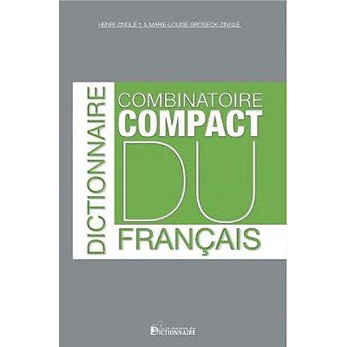 DICTIONNAIRE COMBINATOIRE DU FRANCAIS