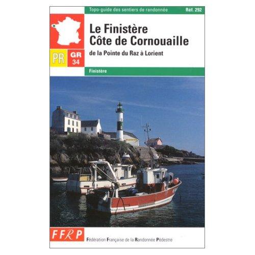 GR 34, GR 34E, PR, LE FINISTERE, COTE DE CORNOUAILLE...