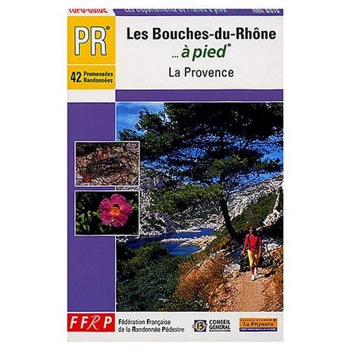 LES BOUCHES-DU-RHONE A PIED 42 PROMENADES ET RANDONNEES