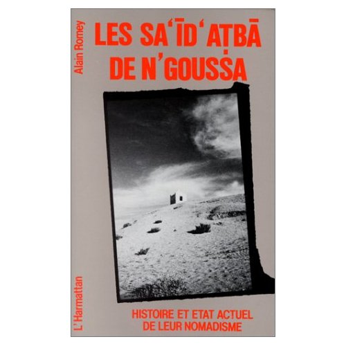 SA'ID ATBA DE N'GOUSSA  HISTOIRE ET ETAT ...