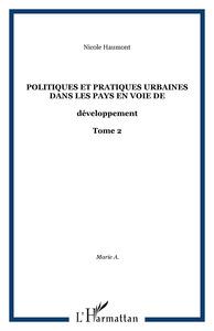 POLITIQUES ET PRATIQUES UAINES DANS LES PAYS EN V T2