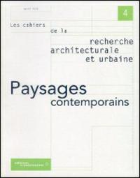 PAYSAGES CONTEMPORAINS, N 4