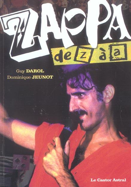 ZAPPA DE Z A A
