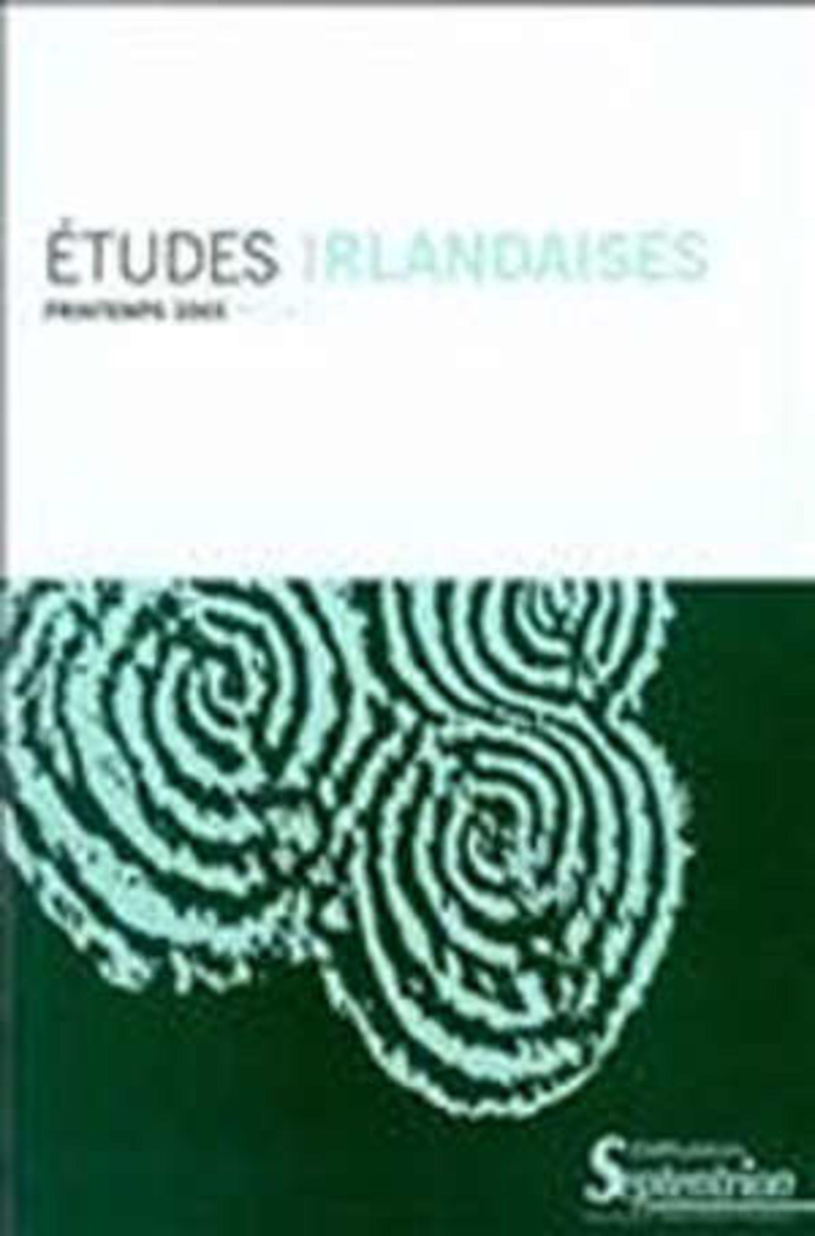 REVUE ETUDES IRLANDAISES N 28 1