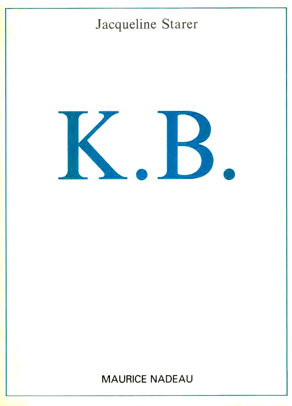 K.B. KEITH BARNES