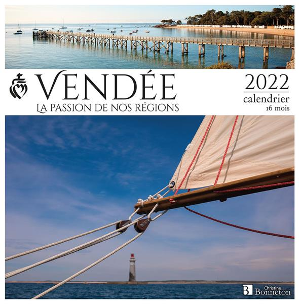 CALENDRIER VENDEE 2022