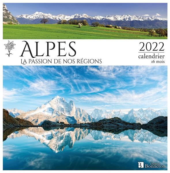 CALENDRIER ALPES 2022