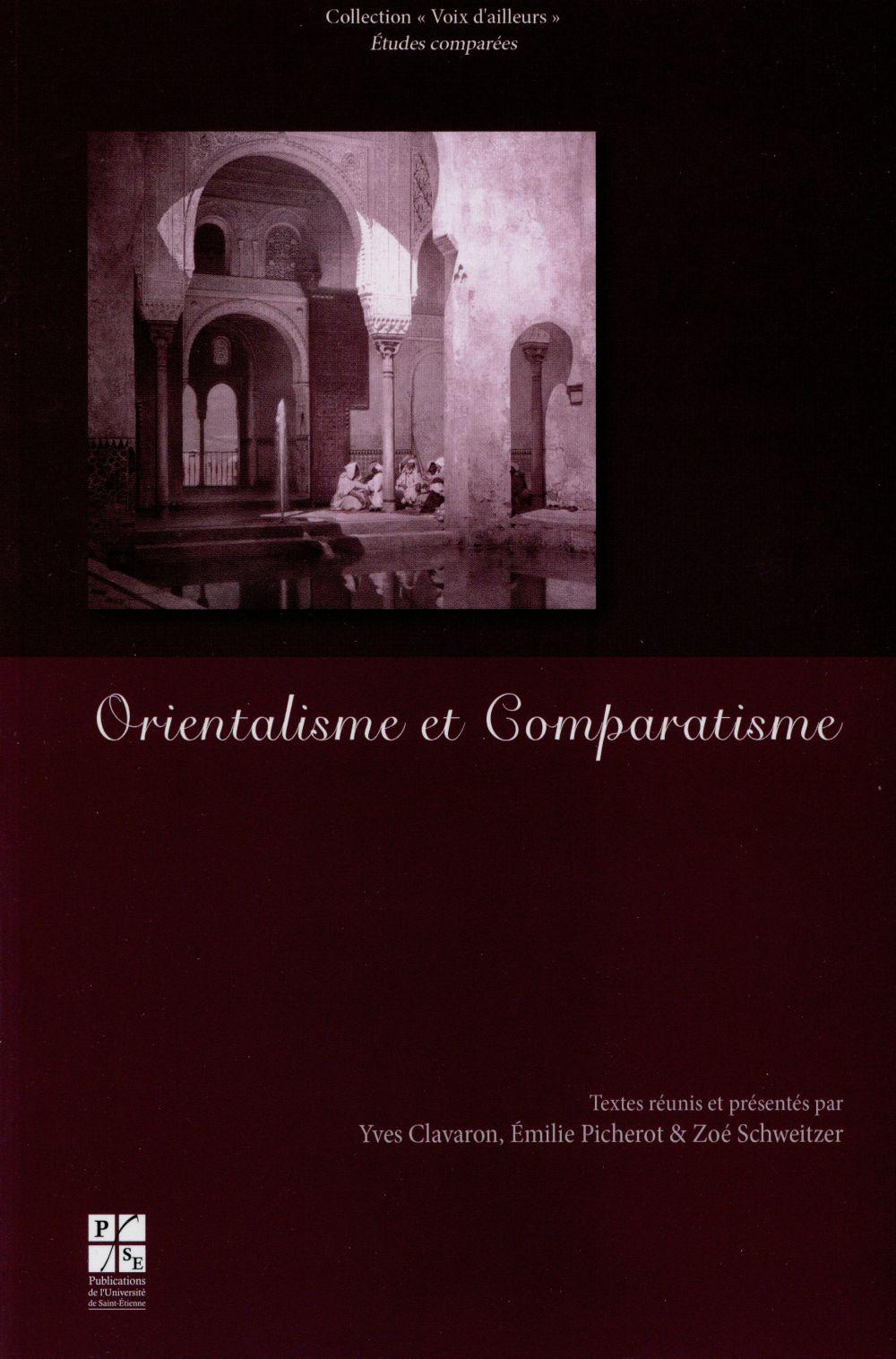 ORIENTALISME ET COMPARATISME