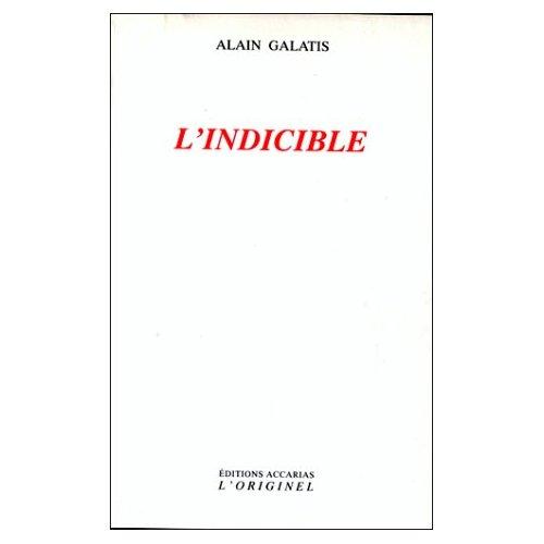 INDICIBLE (L')