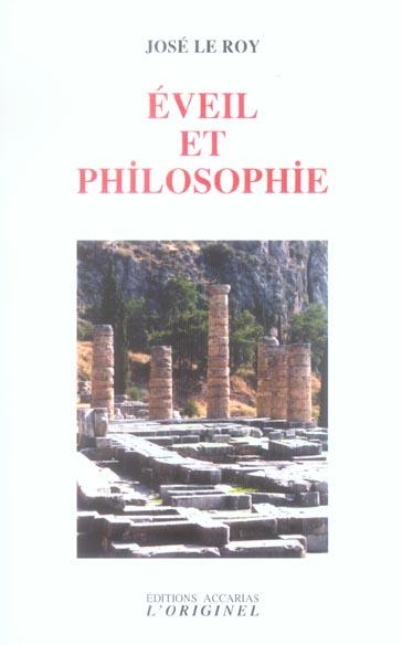 EVEIL ET PHILOSOPHIE