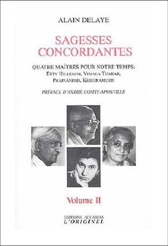 SAGESSES CONCORDANTES VOLUME 2