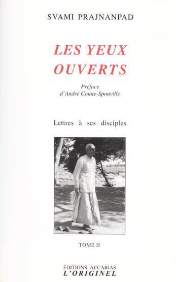 LES YEUX OUVERTS