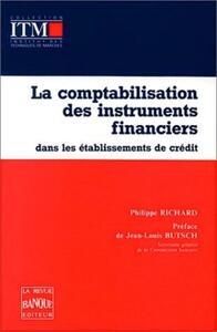 COMPTAB. INSTRUMENTS FINANCIERS