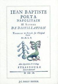 DE DISTILLATIONIBUS - BROCHE
