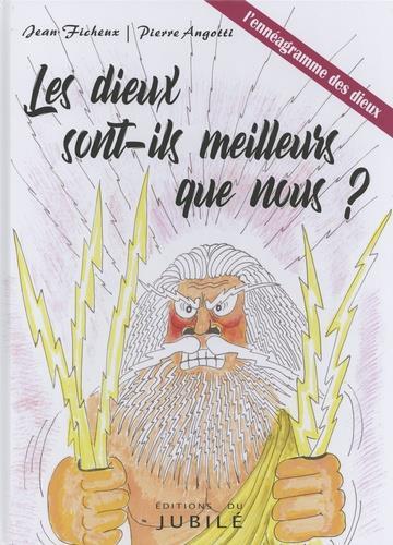 LES DIEUX SONT-ILS MEILLEURS QUE NOUS ? - BANDE DESSINEE - T0 - L'ENNEAGRAMME DES DIEUX