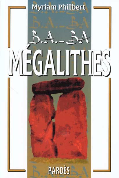 B.A. - BA DES MEGALITHES