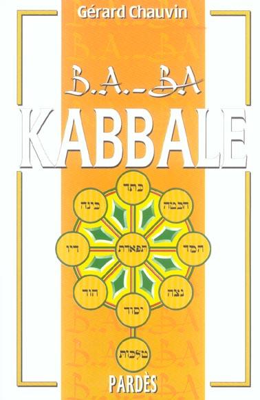 B.A. - BA DE LA KABBALE