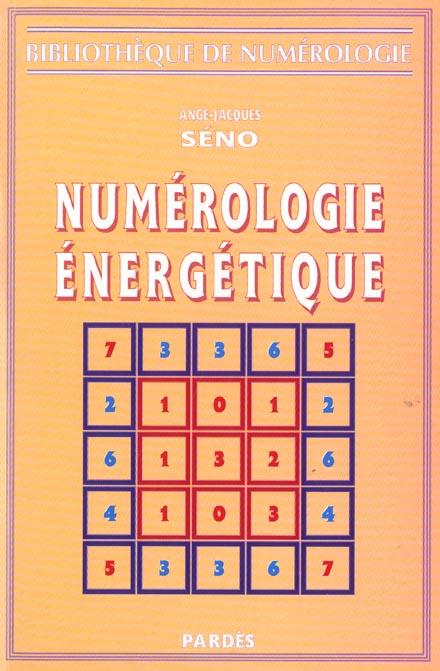 NUMEROLOGIE ENERGETIQUE