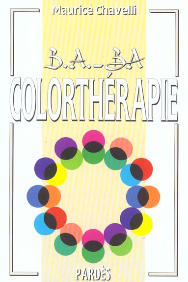 B.A - BA DE LA COLORTHERAPIE