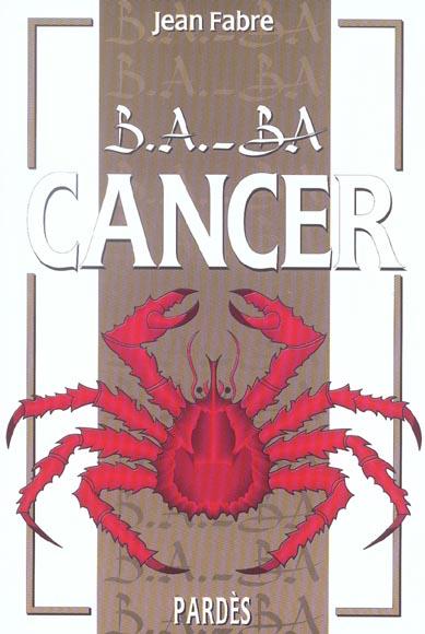 B.A. - BA CANCER