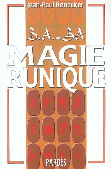 B.A. - BA MAGIE RUNIQUE