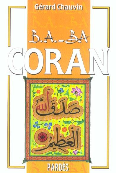 B.A. - BA CORAN